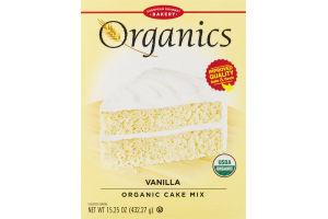 European Gourmet Bakery Organics Vanilla Organic Cake Mix