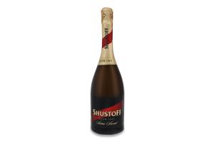 Шампанське 0.75л 10.5-12.5% напівсолодке Shustoff пл