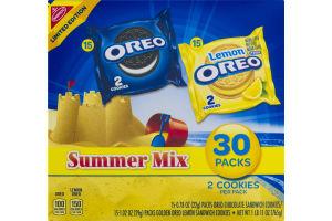 Oreo Cookies Summer Mix - 30 CT
