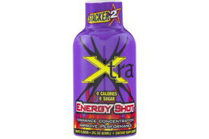 Stacker 2 Xtra Energy Shot Grape
