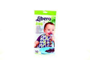 Нагрудник дитячий Libero Easy Meal 10шт