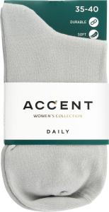 Шкарпетки жіночі світло-сірі 1 0252 331 2325 Акцент АКЦЕНТ арт.02523312325
