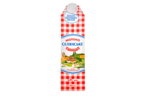 Молоко 3.2% ультрапастеризованное Особое Селянське т/п 950г