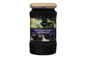 Джем плодово-ягодный пастеризованный Смородиновый Rioba с/б 430г