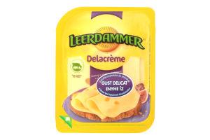Сир 50% твердий Delacreme Leerdammer п/у 125г
