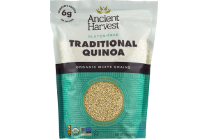 Ancient Harvest Gluten-Free Traditional Quinoa Organic White Grains