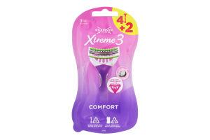 Бритва одноразова Comfort Xtreme3 Wilkinson Sword 6шт