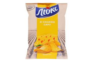 Чипсы картофельные Сыр Люкс м/у 71г