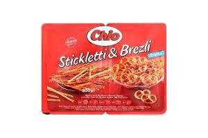 Соломка Stickletti + Brezli 250г х28