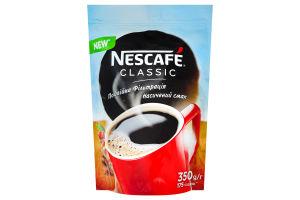 Кава натуральна розчинна гранульована Classic Nescafe д/п 350г