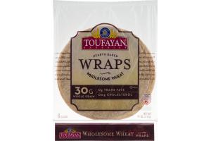 Toufayan Bakeries Wraps Wholesome Wheat - 6 CT