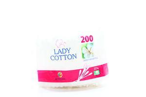 Палочки гигиенические ватные Lady Cotton 200шт