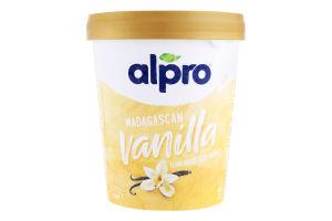 Морозиво 8% на рослинно-соєвій основі Madagascan Vanilla Alpro ст 340г