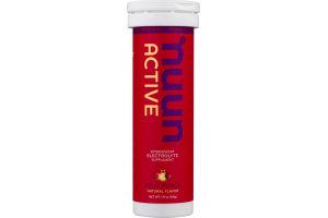 Nuun Active Effervescent Electrolyte Supplement Fruit Punch