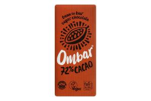 Шоколад черный Ombar 72% какао