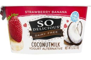 So Delicious Dairy Free Coconut Milk Strawberry Banana