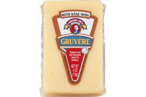 Roth Kase Minis Gruyere Cheese Grand Cru Chunk