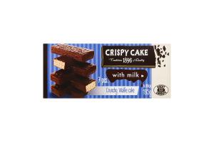 Торт вафельный с молоком Crispy Cake Biscuit Chocolate к/у 195г