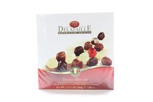 Конфеты шоколадное ассорти Delafaille 200г