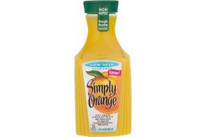 Simply Orange Orange Juice Low Acid Pulp Free