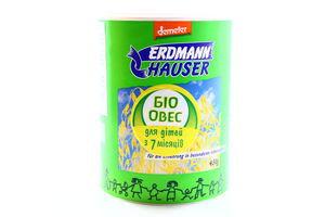 Овес цельный для детей от 7мес Erdmann Hauser к/у 450г