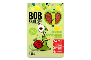 Цукерки натуральні яблучно-лимонні Bob Snail к/у 60г