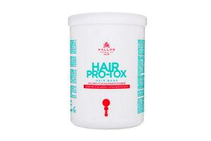 Крем-маска Kallos для волосся Pro-Tox 1000мл х6
