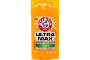 Arm & Hammer Ultra Max Antiperspirant Deodorant Solid Fresh