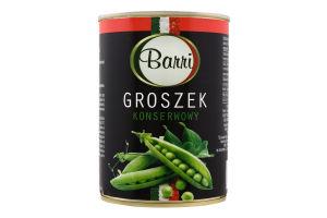 Горошок зелений консервований 400мл ж/б Баррі