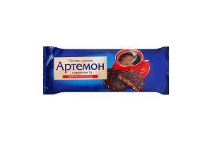 Печенье сахарное с арахисом и вкусом шоколада Артемон Konti м/у 135г