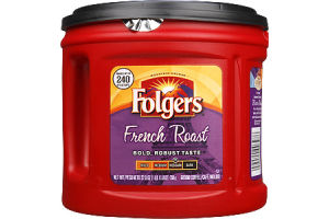 Folgers Mountain Grown French Roast Med-Dark Ground Coffee