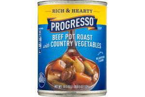 Progresso Rich & Hearty Beef Pot Roast with Country Vegetables Soup