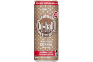 Hi-Ball Energy Coffee Beverage Mocha