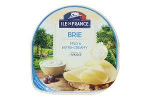 Сир 57% напівтвердий Brie Ile De France лоток 150г