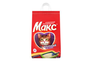 Наполнитель гигиенический крупный для котов Макс 2.5кг