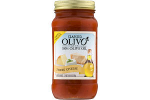 Classico Olivo Pasta Sauce Three Cheese