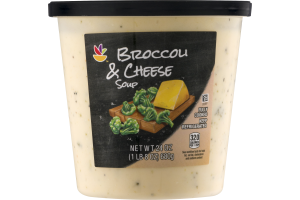 Ahold Broccoli & Cheese Soup