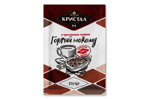 Шоколад гарячий з тростинним цукром Кристал м/у 25г