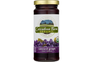Cascadian Farm Organic Concord Grape Fruit Spread