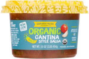 garden fresh gourmet organic salsa cantina style mild - Garden Fresh Gourmet