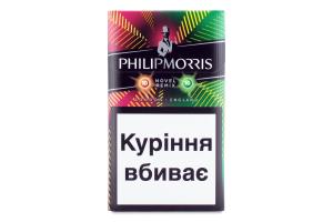 Сигареты с капсулой и ментолом Philip Morris Novel Remix 20шт
