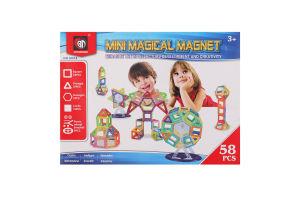Конструктор для детей от 3лет №M058 Magical magnet Xinbida 1шт