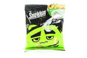 Сухарики со вкусом сметаны и зелени Snekkin м/у 35г