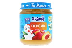 Пюре для дітей від 4міс Персик Беллакт с/б 100г