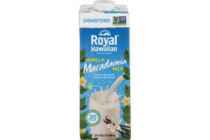 Royal Hawaiian Orchards Vanilla Macadamia Milk