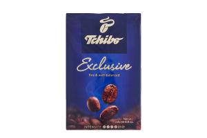 Кофе натуральный жареный молотый Exclusive Tchibo в/у 250г