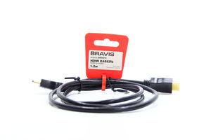 Кабель Bravis BRHD 14 HDMI-HDMI 1.2м