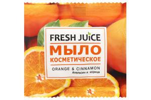Мыло косметическое Orange&Cinnamon Fresh Juice 75г