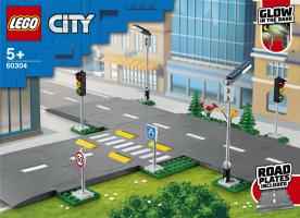 Конструктор для дітей від 5років №60304 Дорожні плити City Lego 1шт