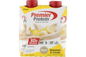 Premier Protein Bananas & Cream - 4 PK